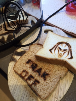 It's a frakking toaster!
