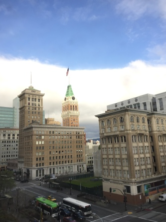 View from Oakland Marriott City Center
