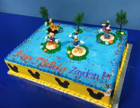 My son's birthday cake!