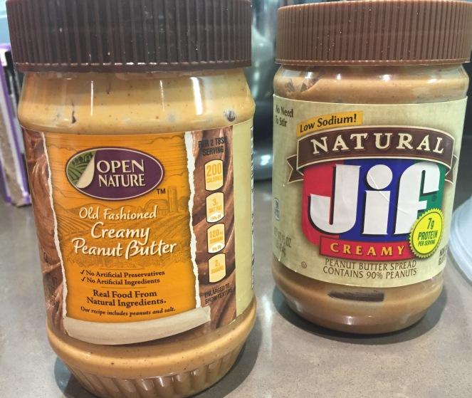 Choosing a peanut butter