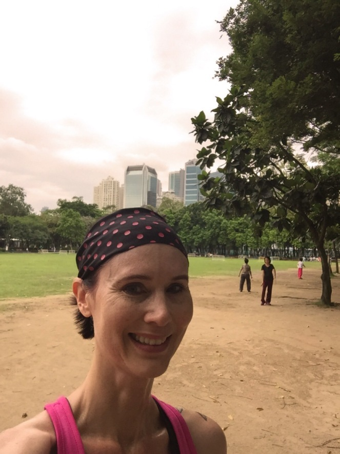 After my Hong Kong Run