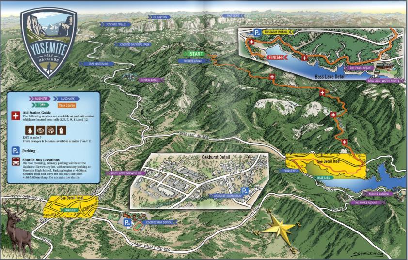 Yosemite Half Marathon 2016